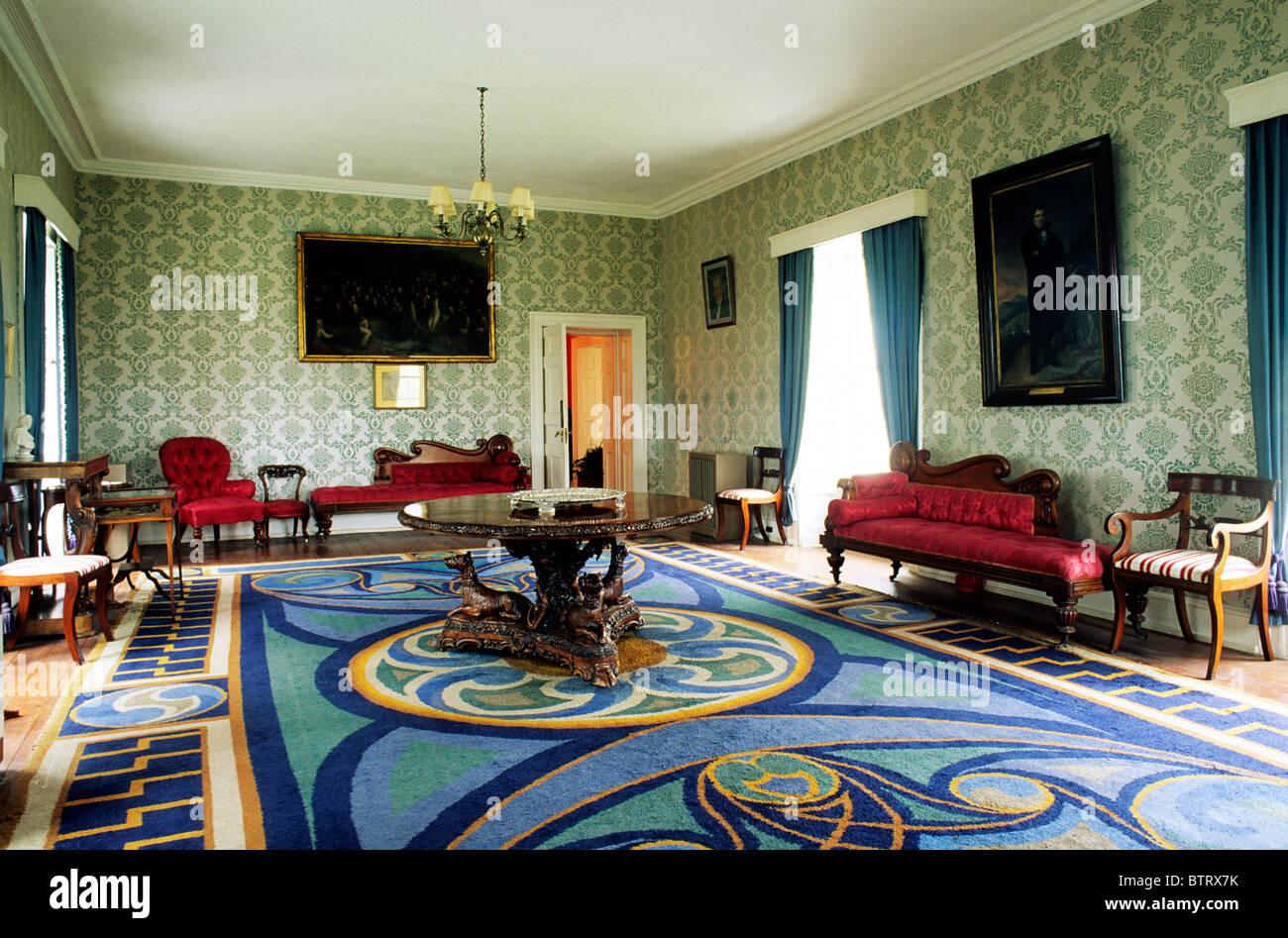 Derrynane House, County Kerry, Irland, innere Heimat von Daniel O ...