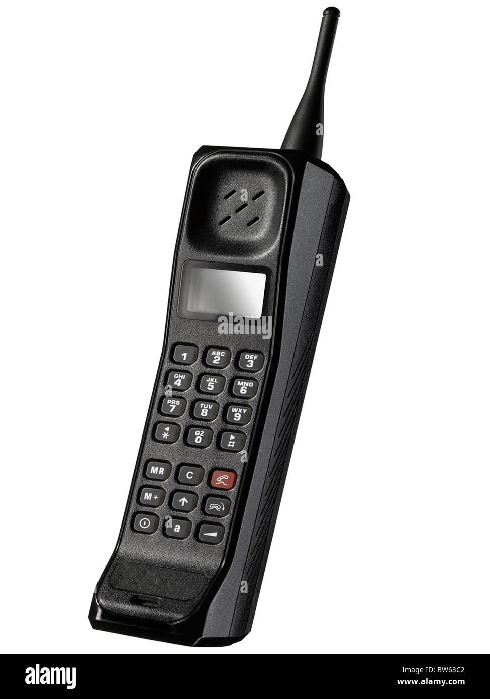 Ein altmodisches Handy Stockbild