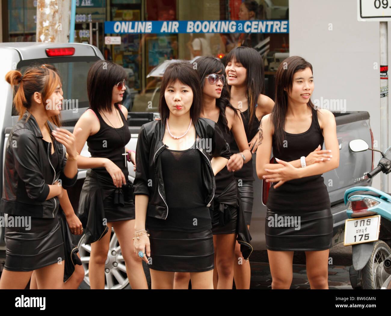 Thai-Mädchen aus pattaya