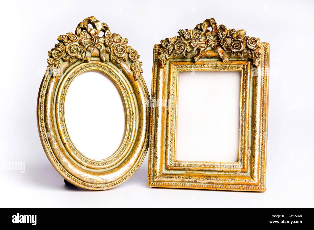 Vintage Bilderrahmen dekoriert Stockfoto, Bild: 32724448 - Alamy
