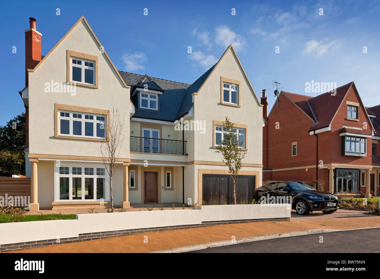 Chigwell Grange-Luxus-Wohnungen in Essex. Stockbild