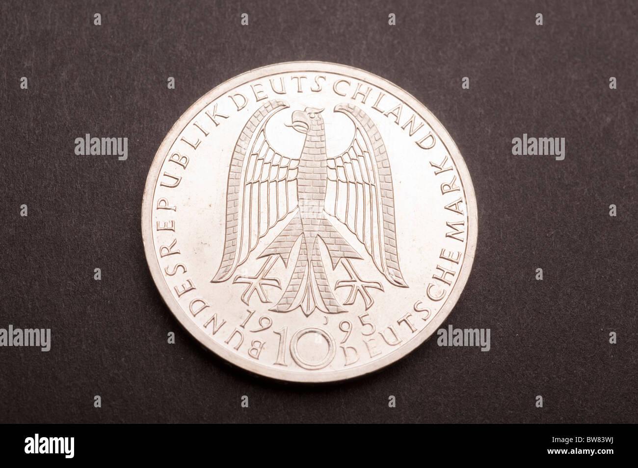 10 Deutsche Mark Münze Stockfoto Bild 32755454 Alamy