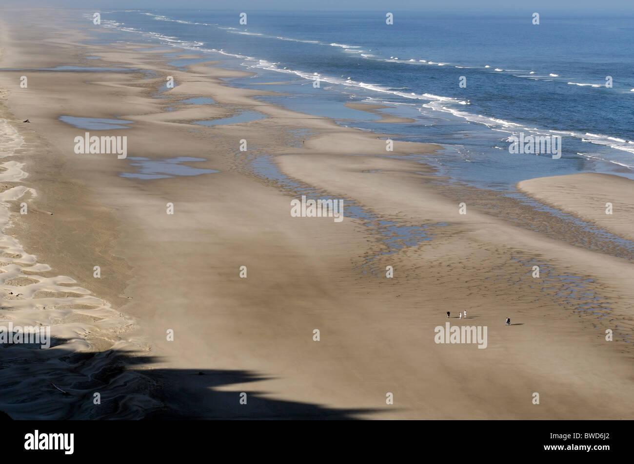 Baker Beach Florenz Oregon Usa Pazifik nordwestlich lange Sandstrand unberührte Küste Küste Küste Stockbild