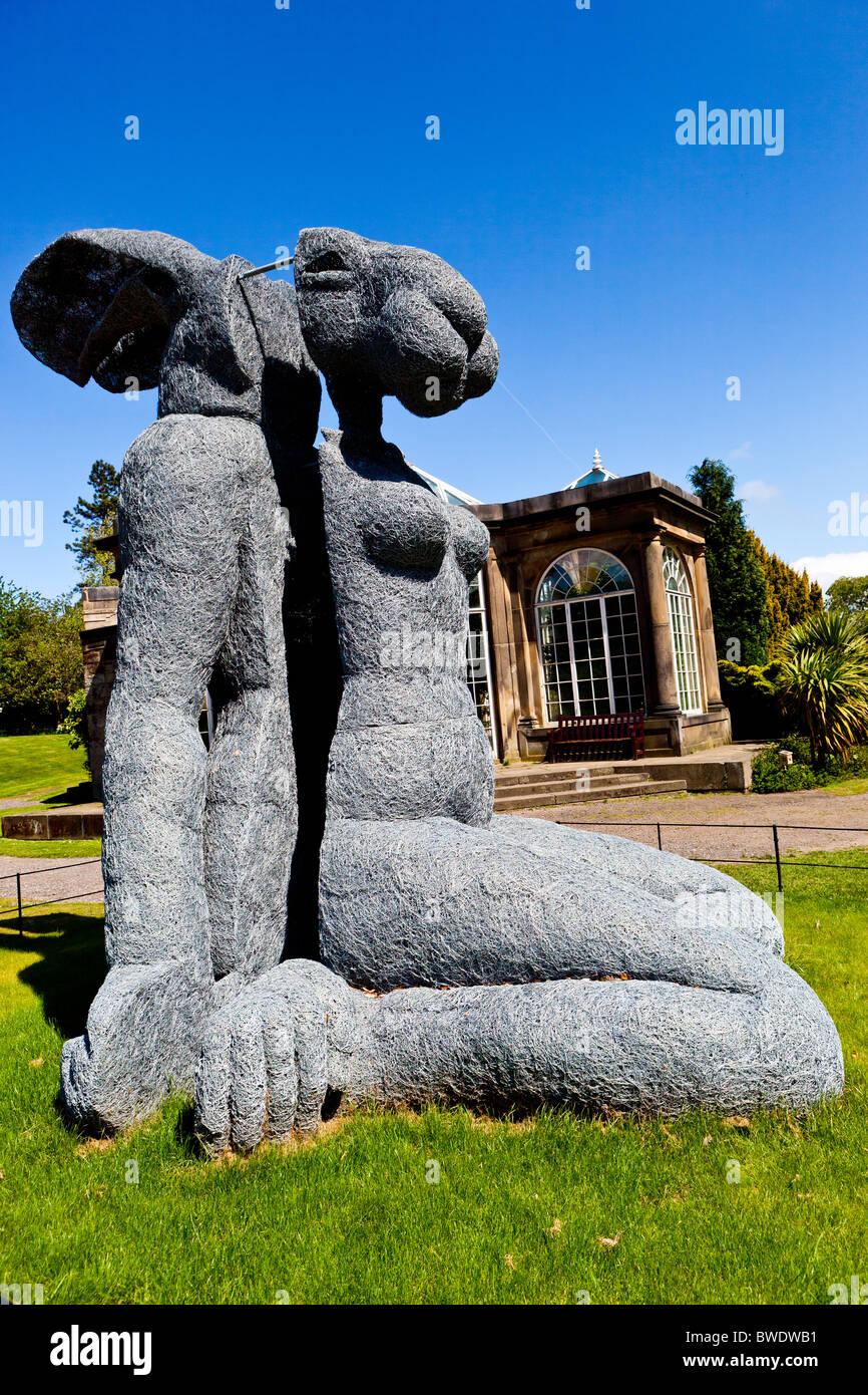 Sophie Ryder Hare Sculpture Stockfotos & Sophie Ryder Hare ...