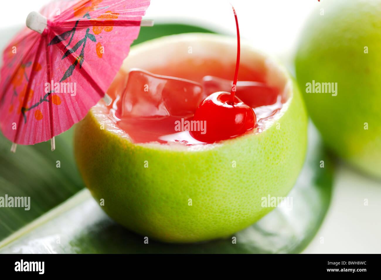 exotischer cocktail Stockbild