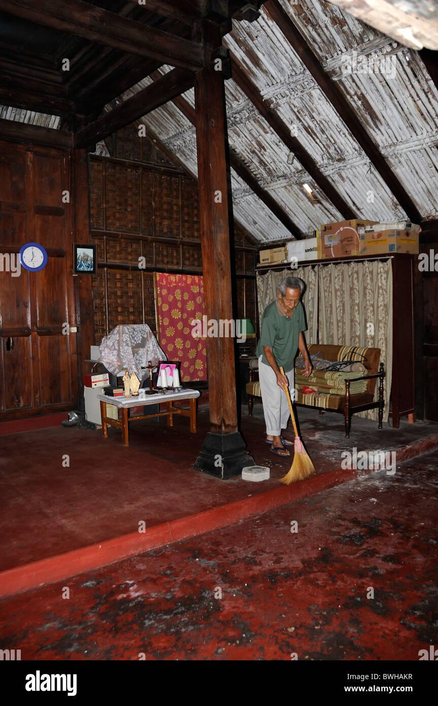 Traditionellen Javanischen Wohnung Innenarchitektur In Der Nähe