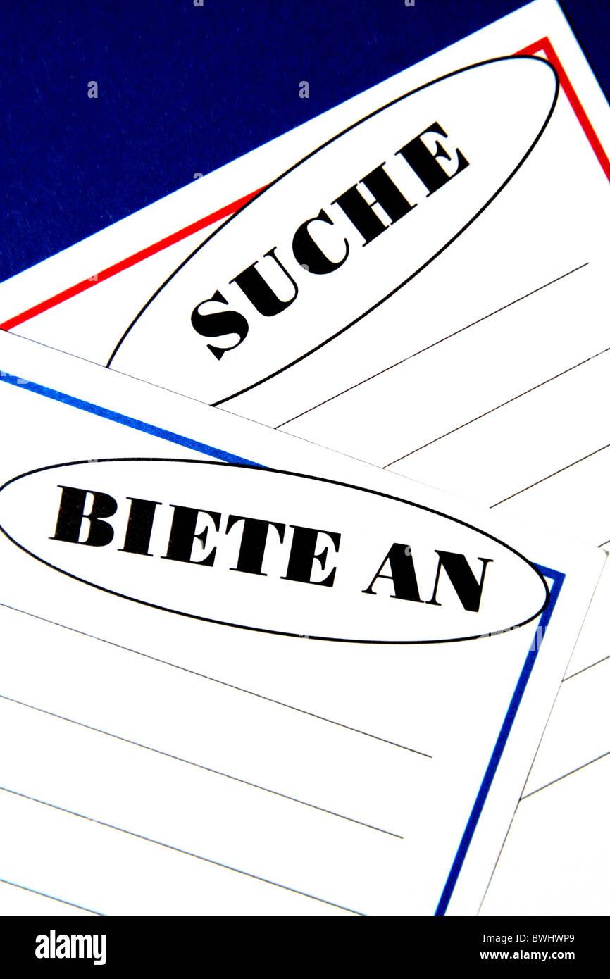 Belege Des Papiers Beachten Sie Zettel Papier Angebot Angebot