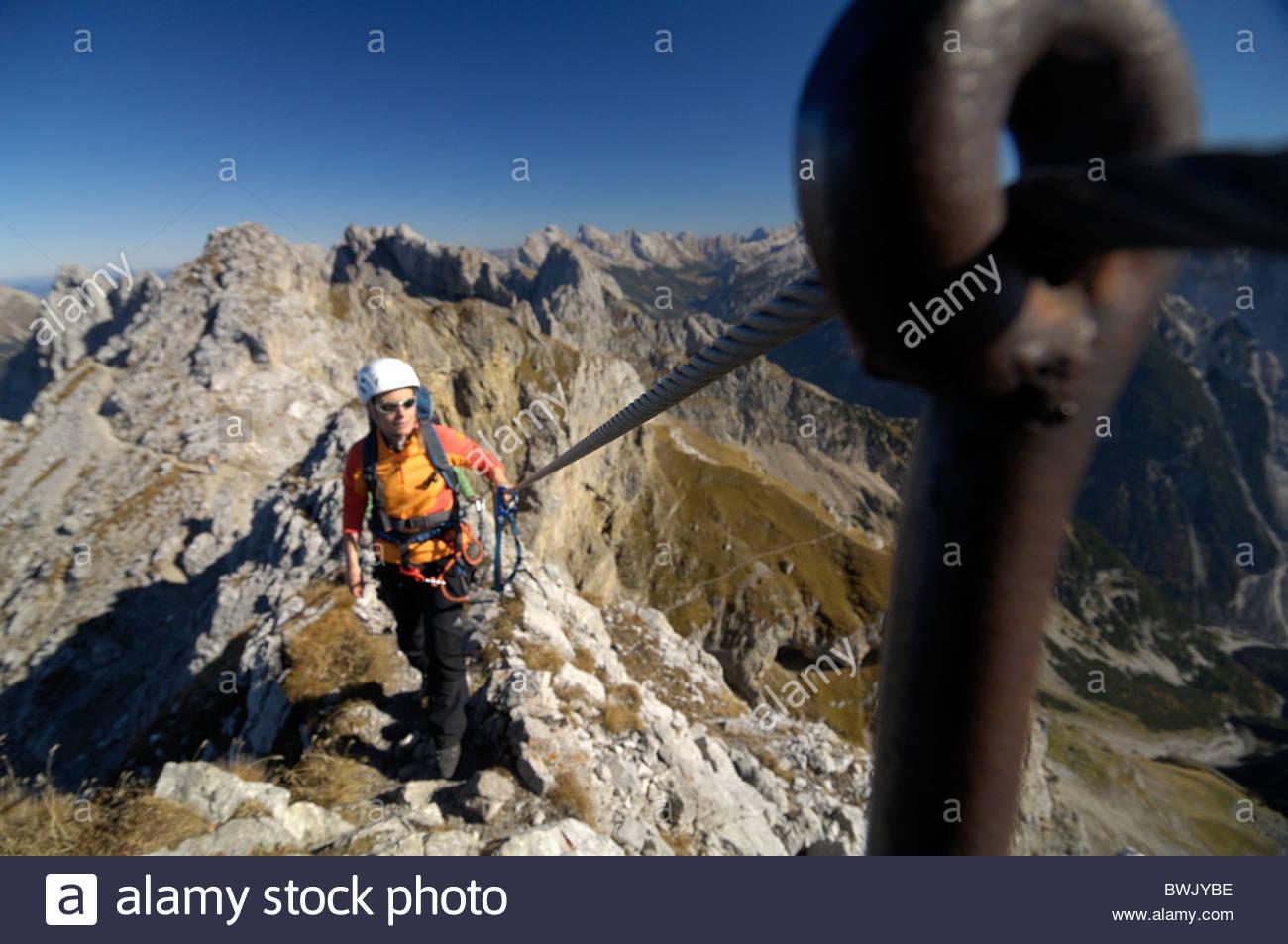 Klettersteig Mittenwald : Mittenwalder klettersteig und höhenweg wandern mit alpenpanorama