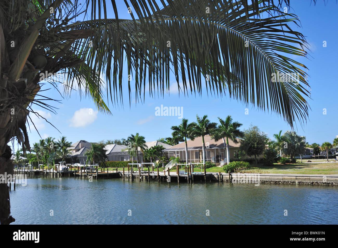 Marco Island, Florida Stockbild