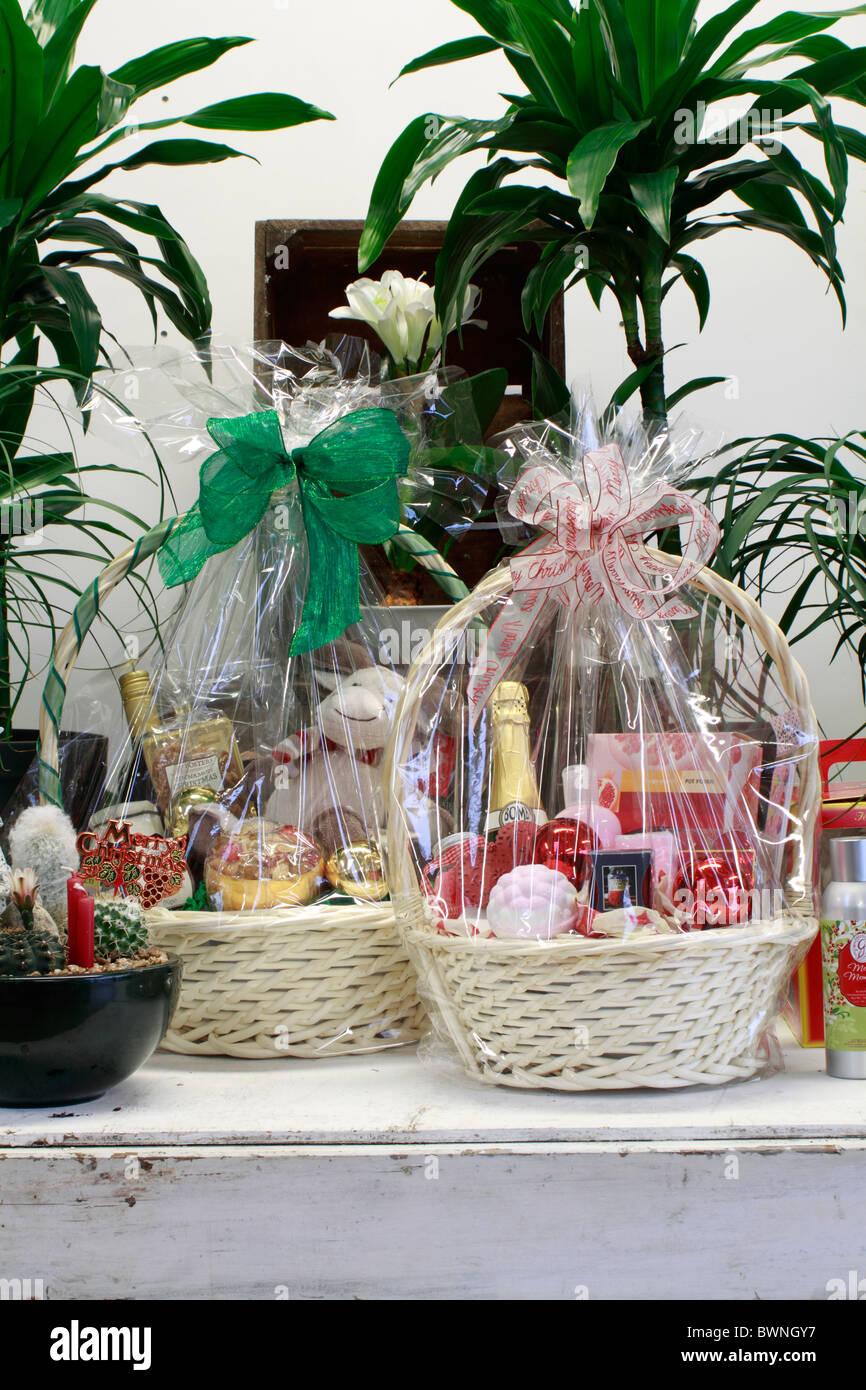 Weihnachten Geschenkkorb - Lebensmittel-Korb für Weihnachten ...