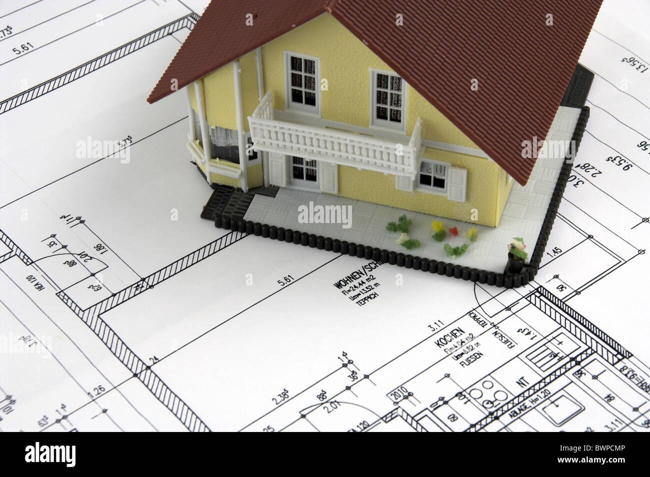 Bauplan architekt architektur bauen konstrukt design for Haus bauen architekt