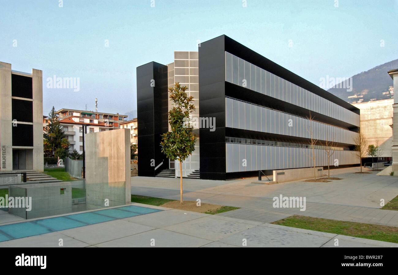 Schweiz europa lugano universit t kanton tessin architektur moderne geb ude im freien stockfoto - Beste architektur uni europa ...