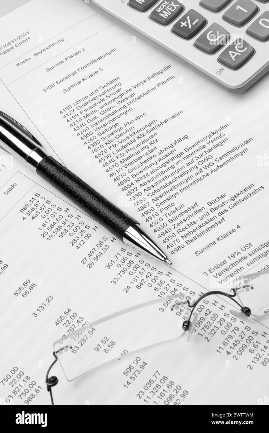 Buchhaltung Rechnungswesen Stockfoto Bild 33123152 Alamy