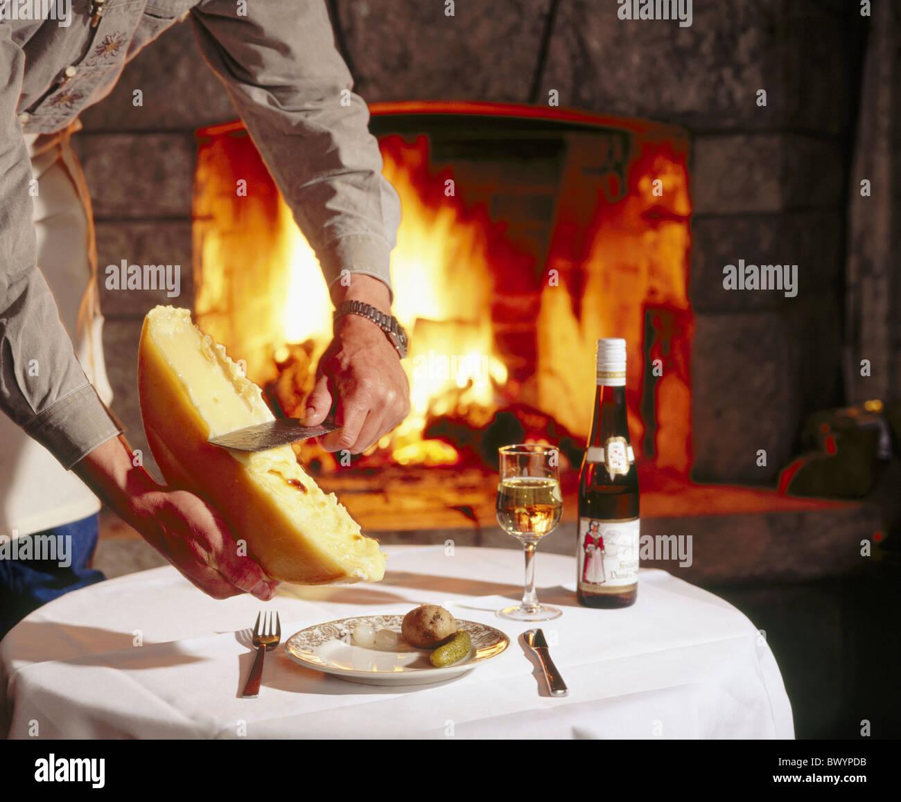 Kamin Essen essen essen feuer bequem gerichte gerichte schornstein kamin