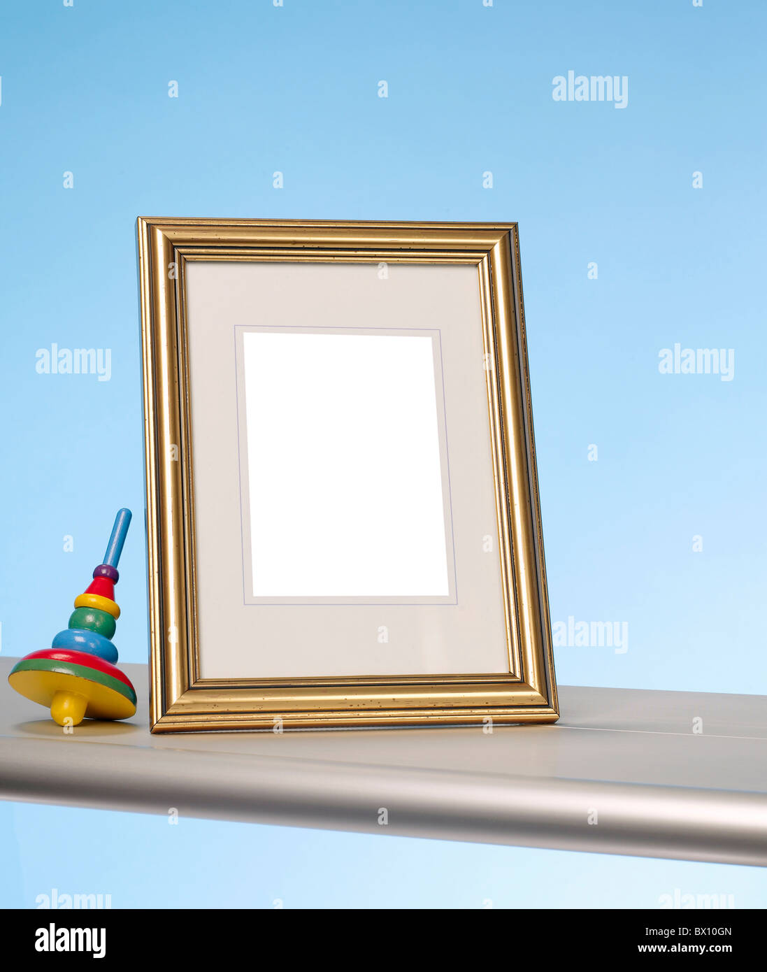 Digitaler Bilderrahmen Stockbild