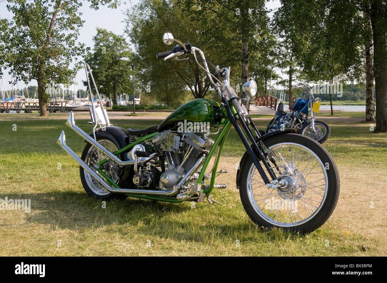 custom harley davidson chopper chopper motorrad motorrad. Black Bedroom Furniture Sets. Home Design Ideas