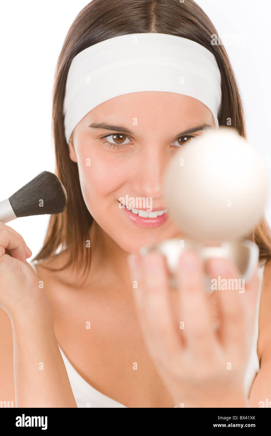 Skin care stockfotos skin care bilder alamy - Spiegel kinderzimmer junge ...