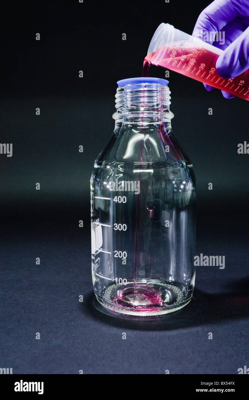Chemie-Forschung Stockbild