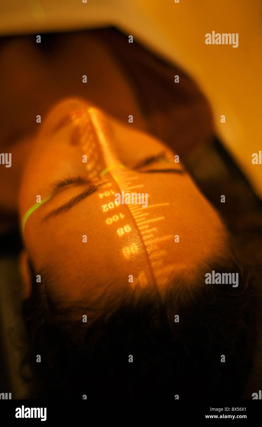 Strahlentherapie Stockbild