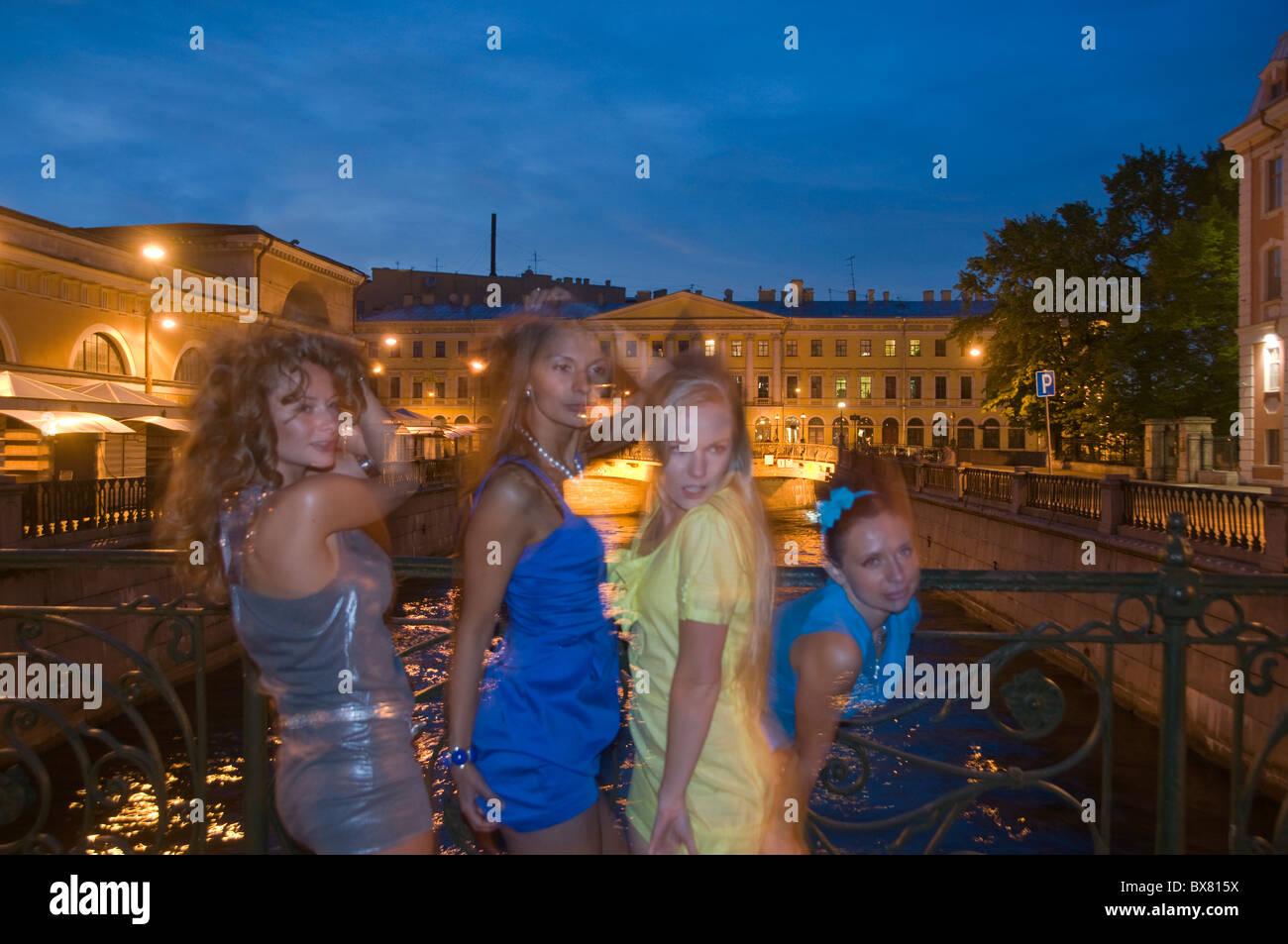 St. Petersburg Russland Mädchen