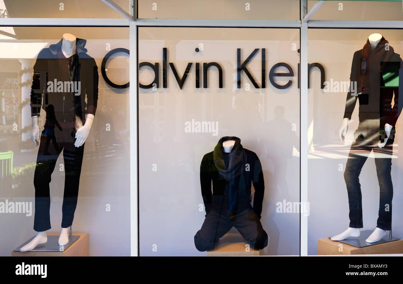 Calvin Klein Store, Orlando Premium Outlets, Lake Buena Vista, Orlando, Florida, USA Stockbild