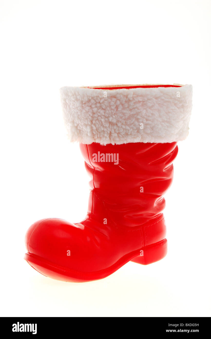 Santa Claus Boots Stockbild