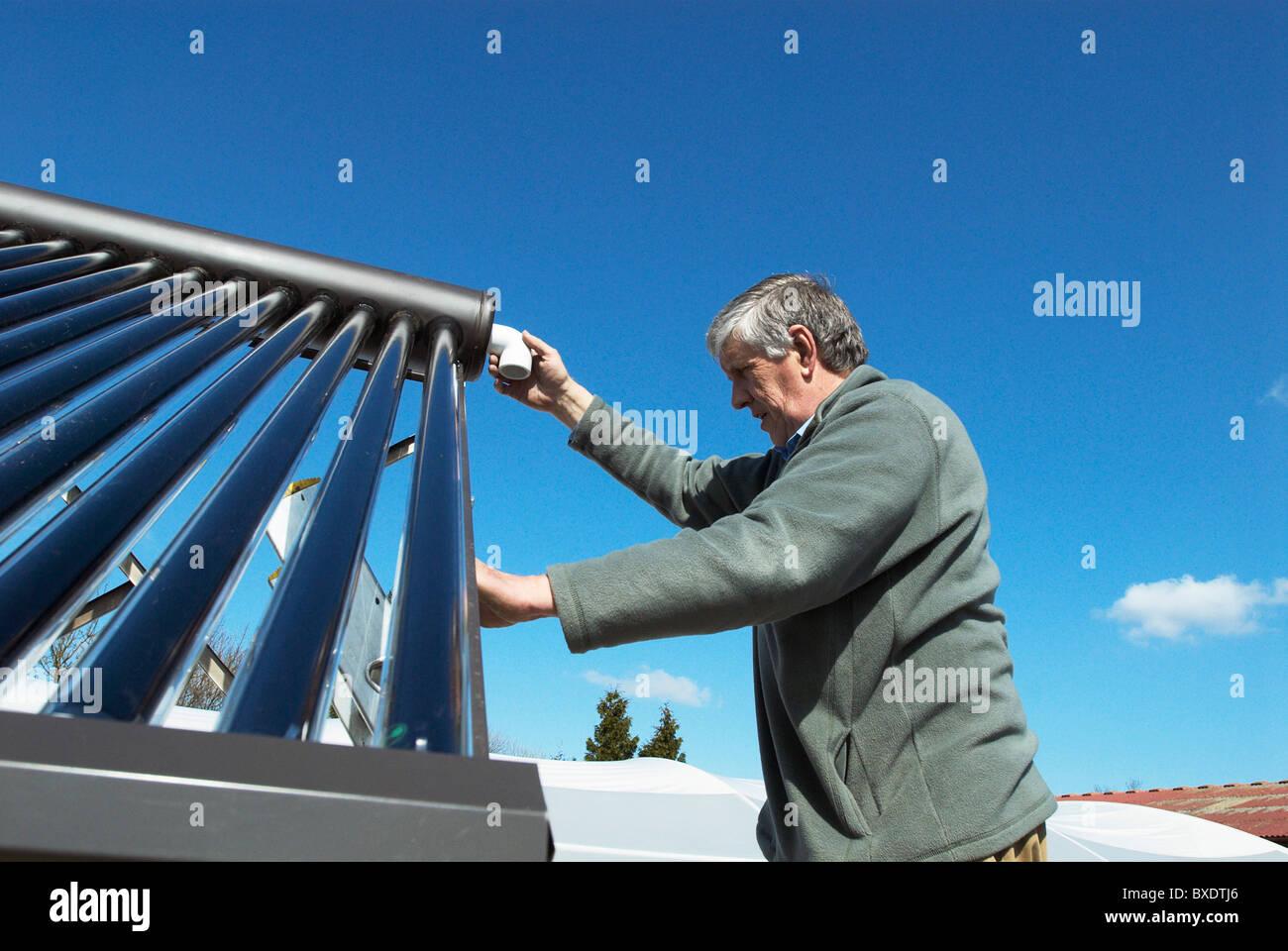Solar Hot Water Stockfotos & Solar Hot Water Bilder - Alamy