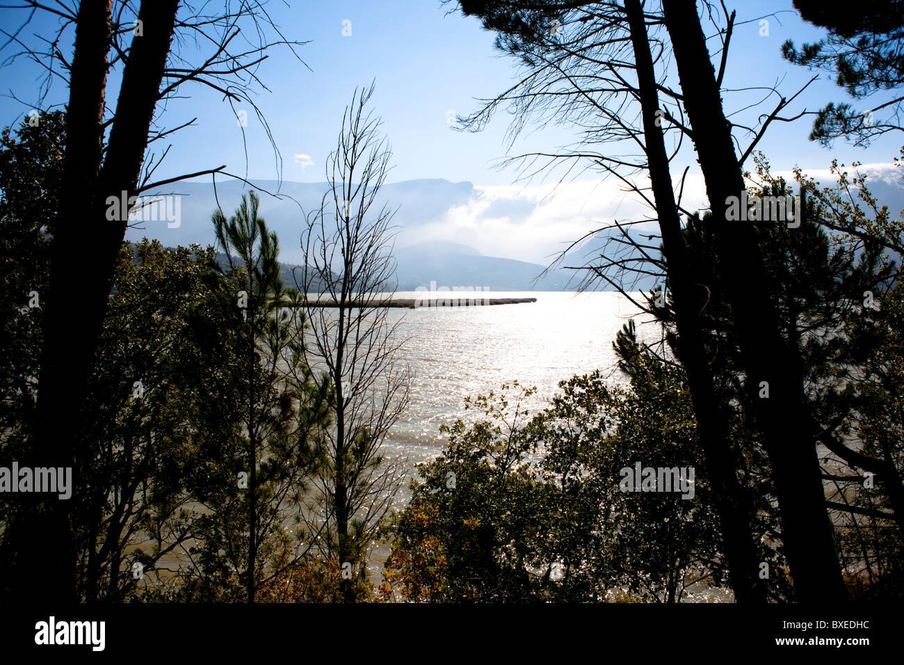 Catalonia Landschaft Spanien Stockbild