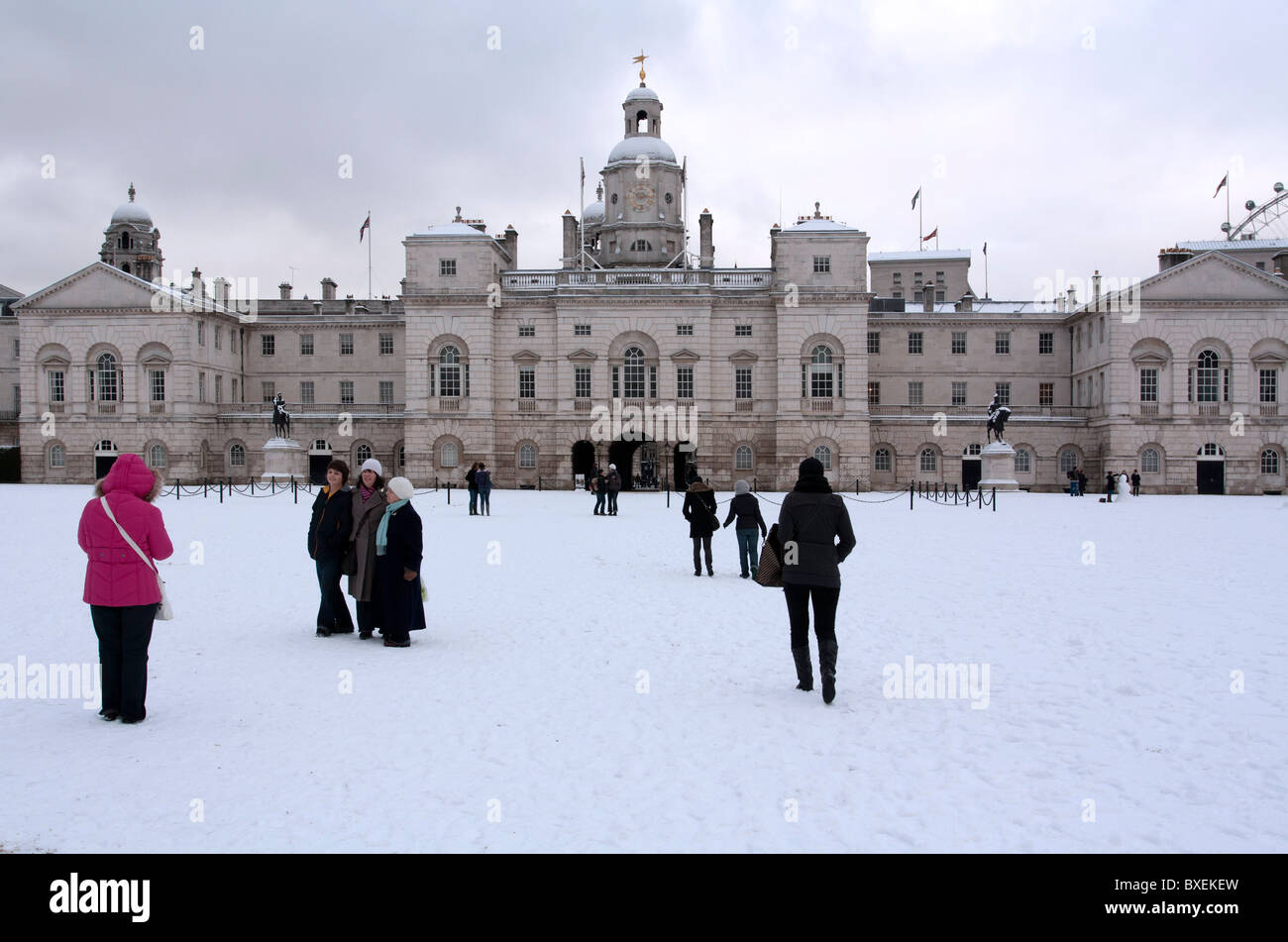 Horse Guards Parade - London Stockbild