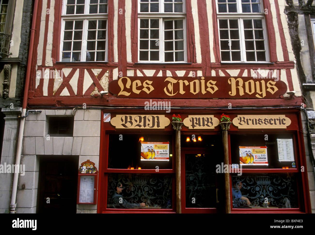 Les Trois Roys Restaurant, französische Küche, Französisch Essen und ...