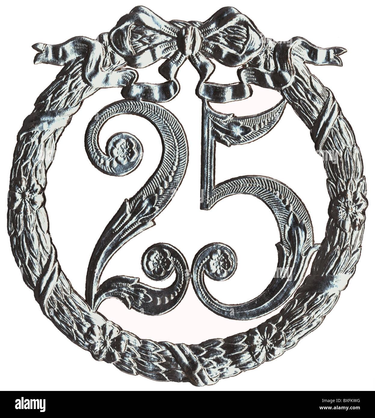 Deutschland Ca 1930 Jubilaum Jahrestag Jahrestage Jubilaen