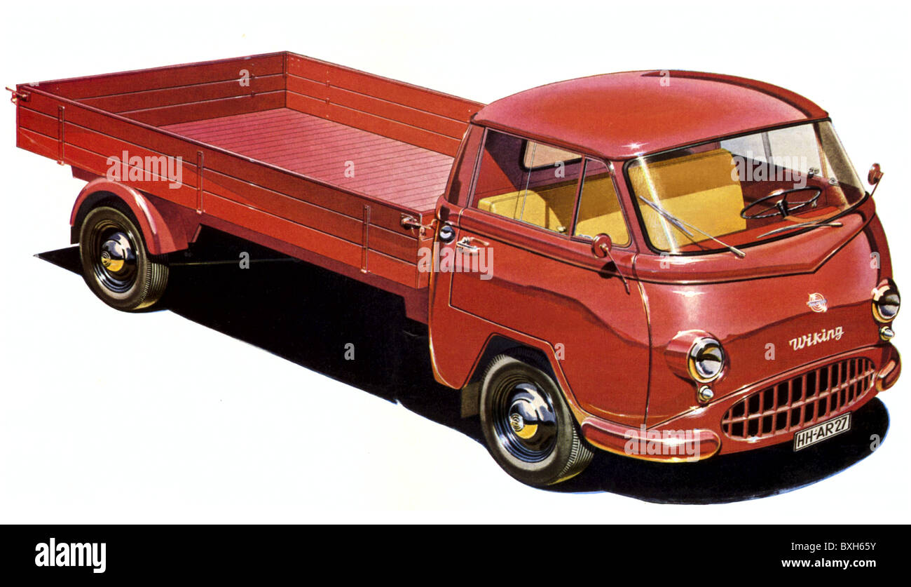 Verkehr / Transport, Auto, Fahrzeugvarianten, LKW, LKW, Wiking Auto ...