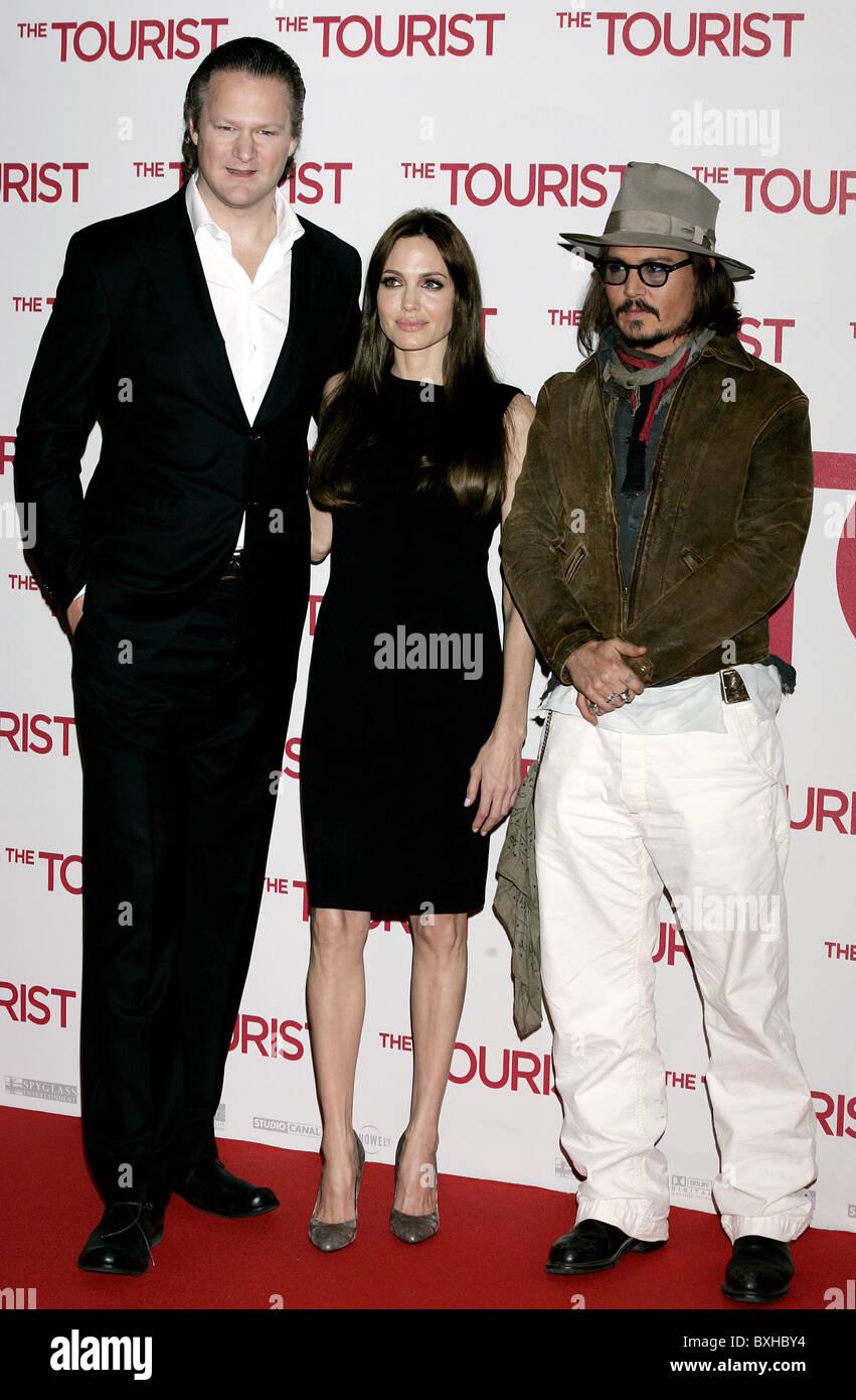 Florian Henckel Von Donnersmarck Angelina Jolie Mit Michael Jackson
