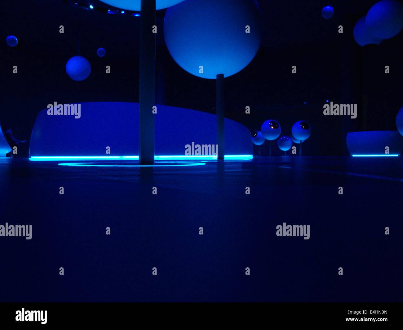 Universum der Teilchen Ausstellung, Cern, Genf, Schweiz Stockbild