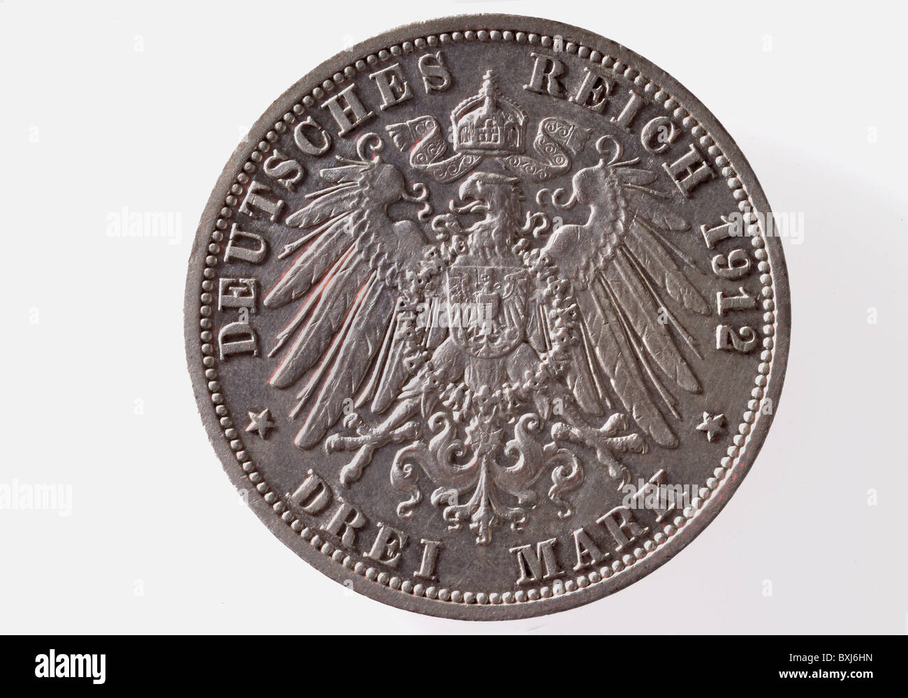 Geldfinanzen Münzen Deutschland 3 Deutsche Mark Münze 1912