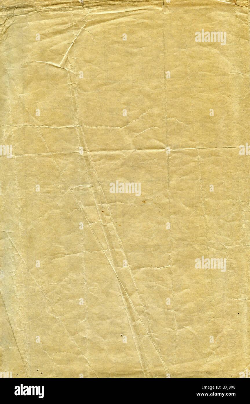 Ein Stück der alten Papier Stockbild