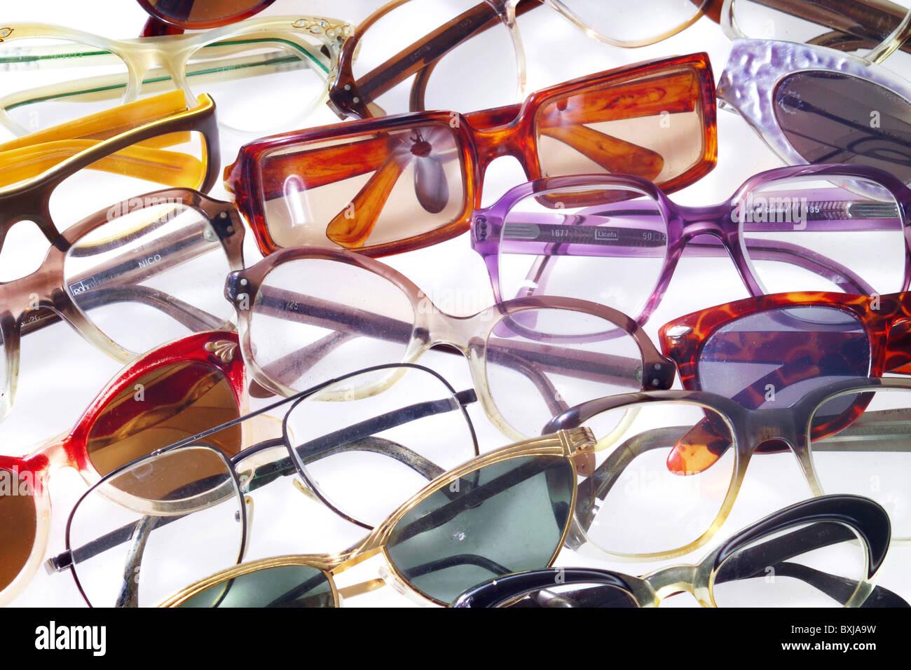 Mode Accessoires Brillen 50er Jahre 60er Jahre 70er Jahre 80er