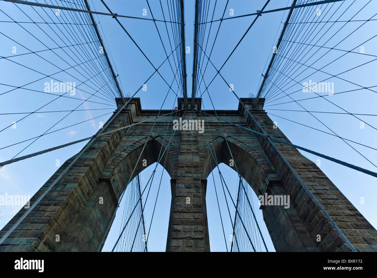 Brooklyn bridge, New york Stockbild