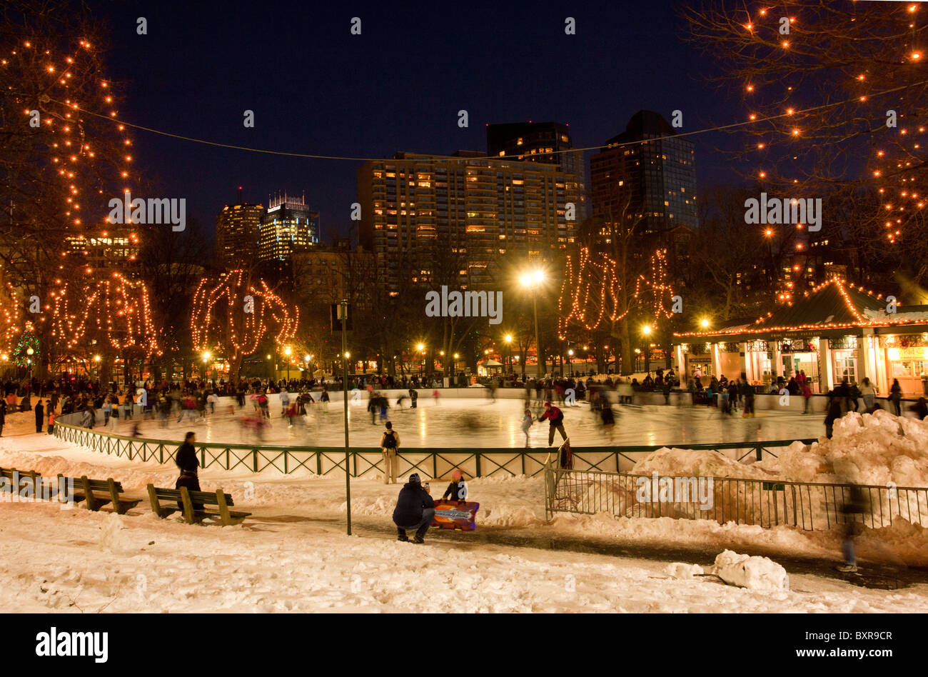 Boston Christmas Stockfotos & Boston Christmas Bilder - Alamy