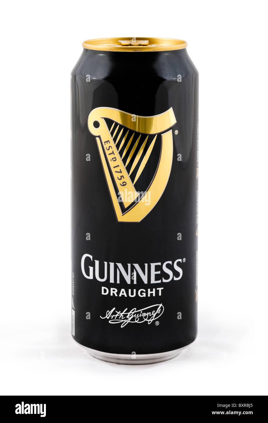 Kann der Luftzug Guinness, UK Stockbild