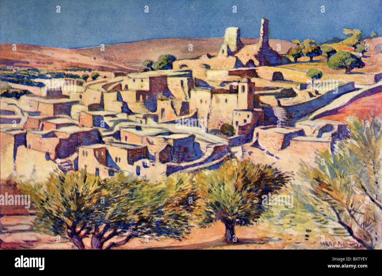 Die biblischen dorf von bethanien in der n he von jerusalem pal stina heimat des lazarus - Mobelladen in der nahe ...