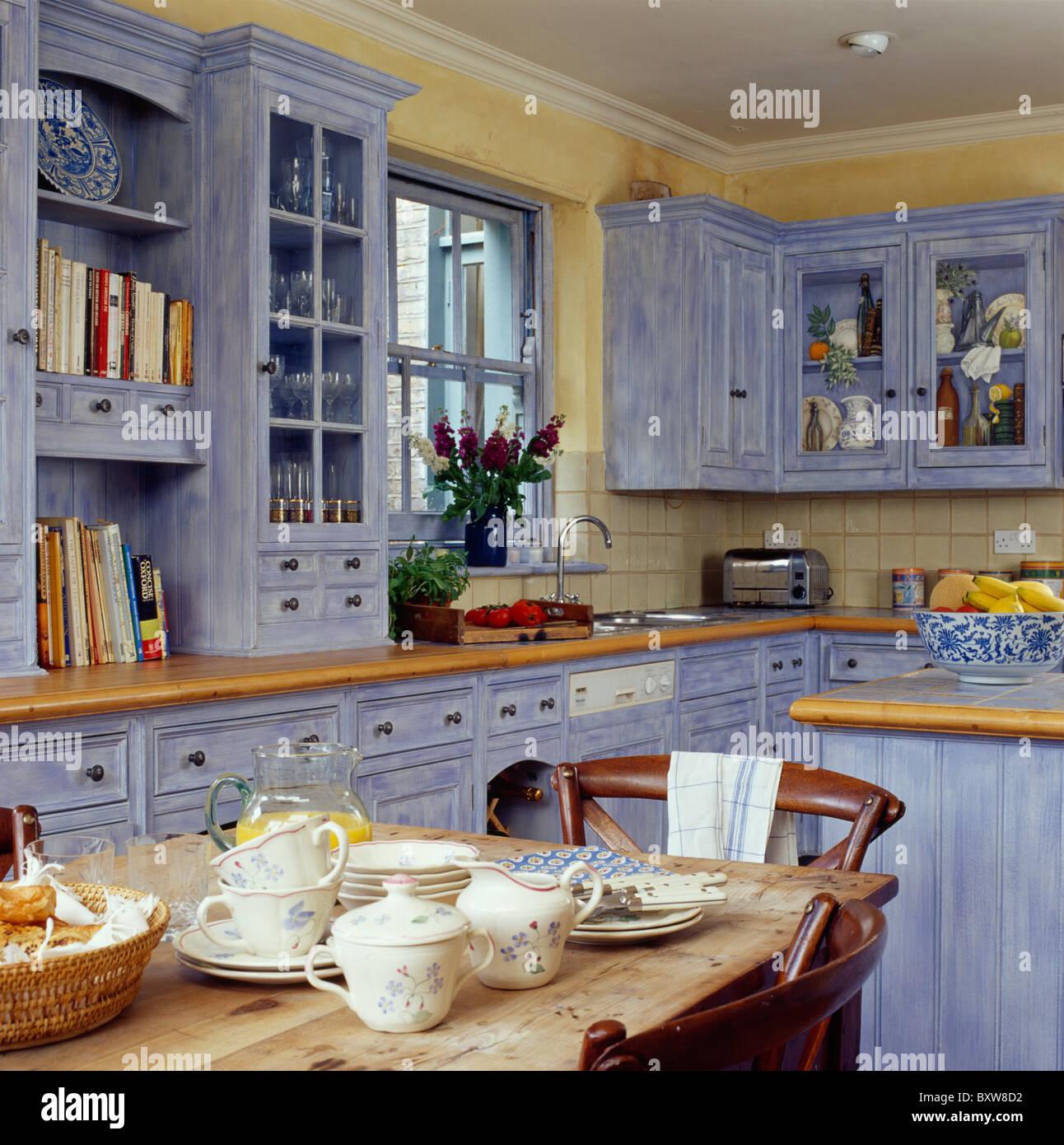 Großartig Hellblau Küchendekor Bilder - Ideen Für Die Küche ...
