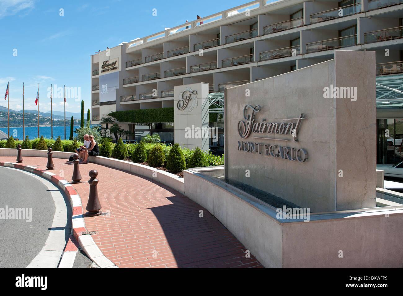 Das Fairmont Hotel Monte Carlo Monaco Stockfoto Bild 33752609 Alamy