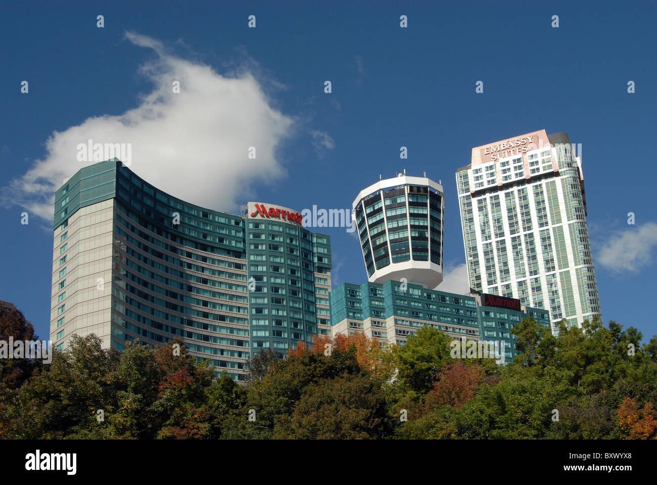 Das Marriott Fallsview Hotel Embassy Suites Hotel Und Konica Minolta