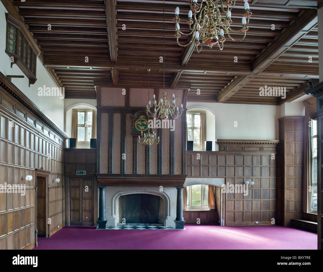 Greenham Lodge von Norman Shaw 1879-83 Stockbild