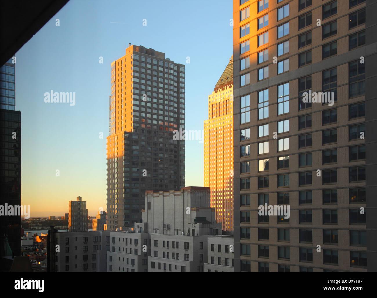 Sky Scraper, Times Square, Manhattan, New York City Stockbild