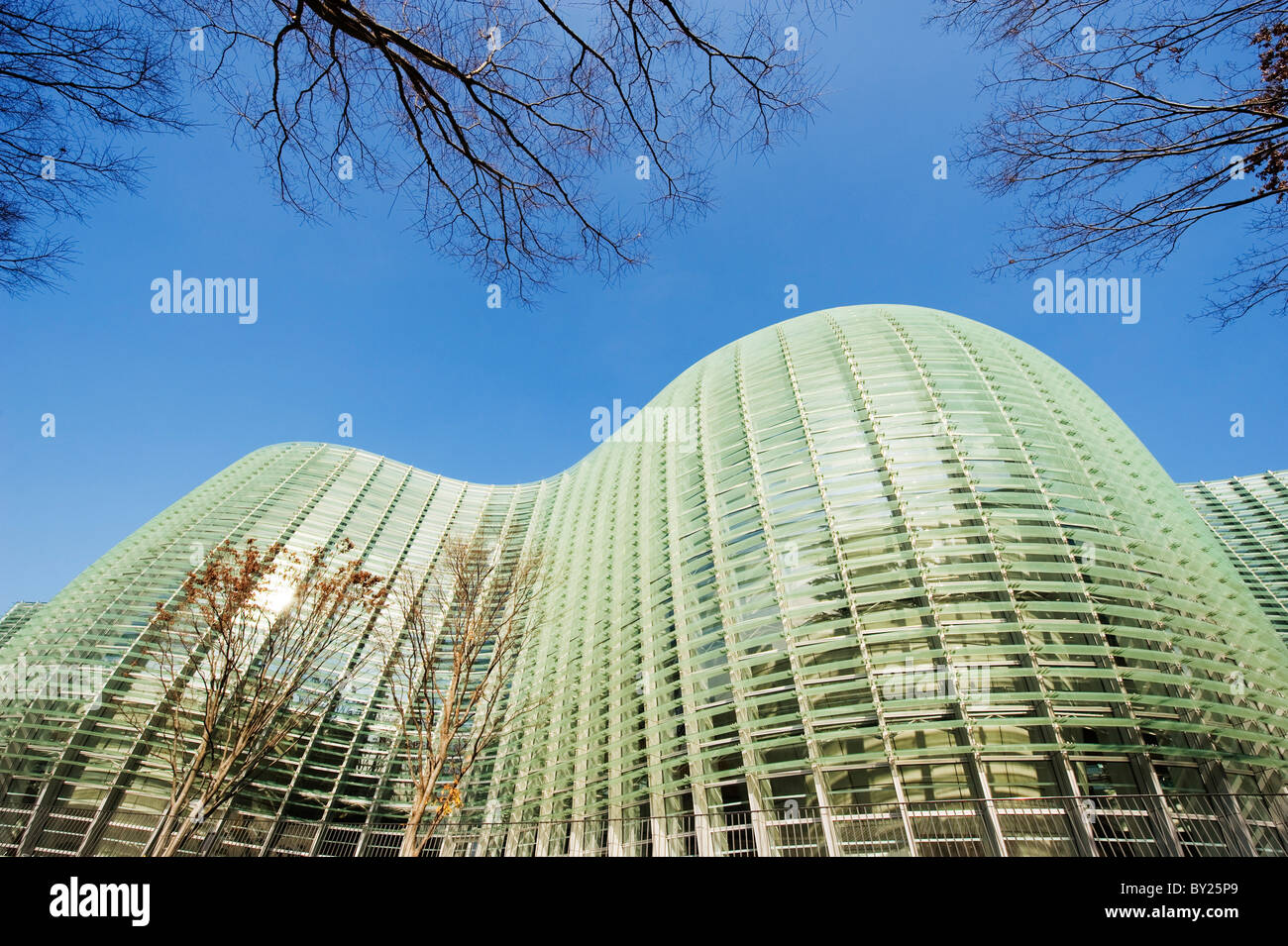 Roppongi, Tokyo, Japan, Asien abzuwehren, nationales Zentrum für Kunst, NACT, entworfen von Kisho Kurokawa Stockbild
