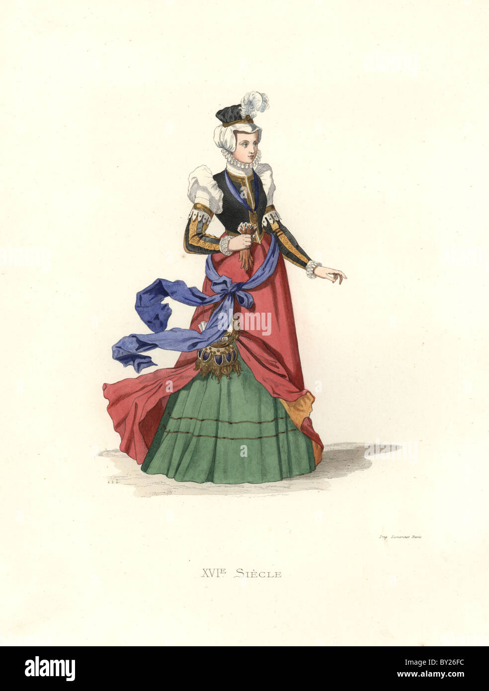 Schweizer Dame, 16. Stockbild