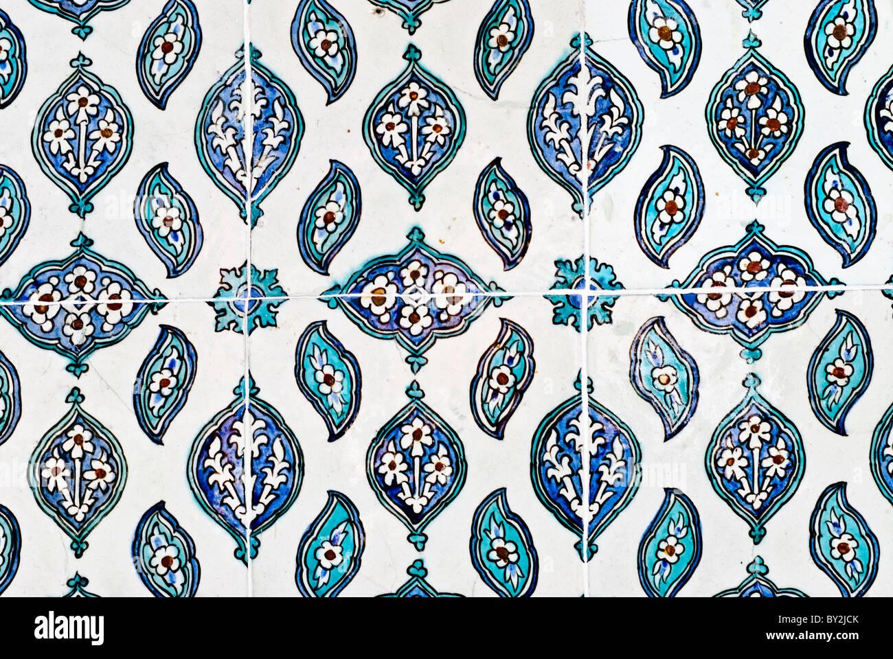 Reich Verzierte Keramik Fliesen An Den Wänden Der Audienzsaal Auch - Fliesen auf türkisch
