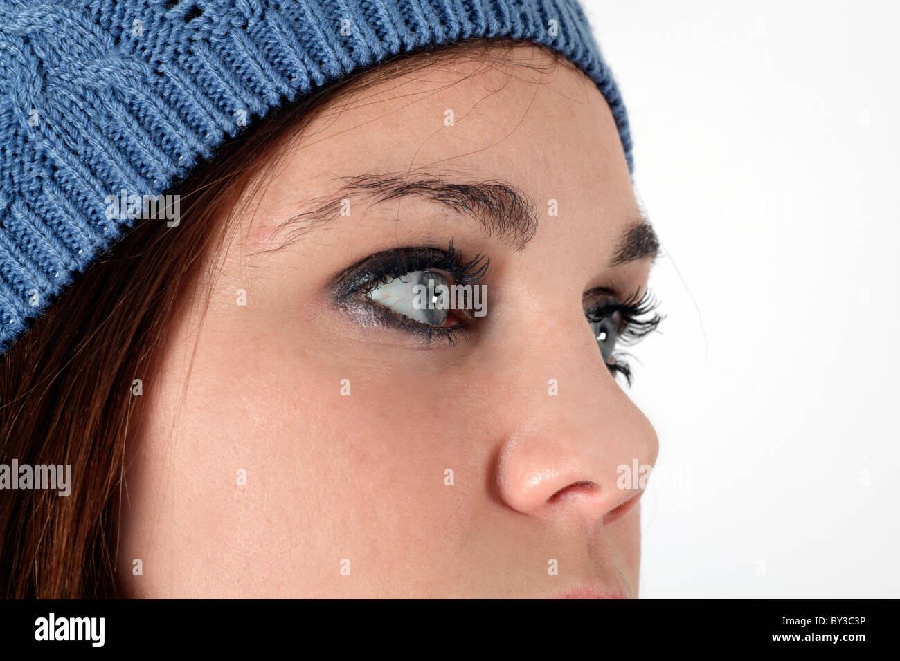 Profil-Hinweis Stockbild